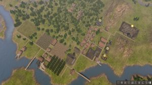 The greatest reward: Watching the self-sufficient town you built from scratch from high above.