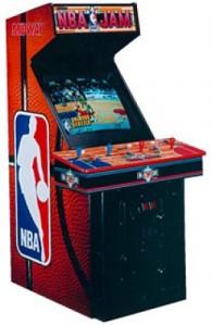 NBA Jam arcade.